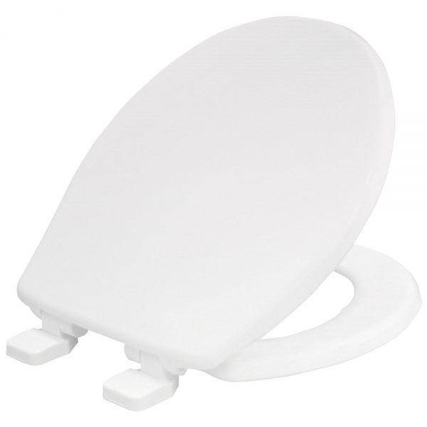Carrara & Matta York Sta-Tite Soft Close Plastic White Seat