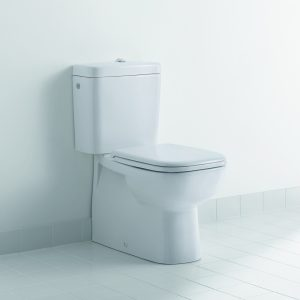 Duravit D-Code Fully Back To Wall Toilet & Seat