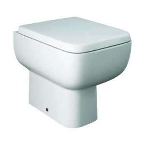 Serena Back To Wall Toilet & Soft Close Seat