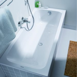 Duravit D-Code Bath Single Ended 5mm 1600, 1700 x700mm In White
