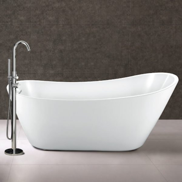 Arruba Single Ended Freestanding Bath 1660x725mm