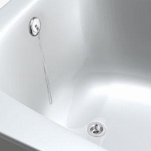 """Exposed Bath Parking Plug Waste In Chrome 11/2"""""""