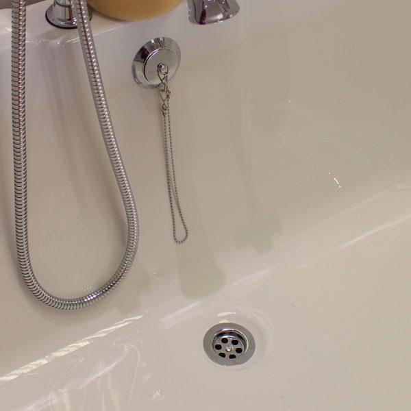 Bath Parking Plug & Chain Waste In Chrome