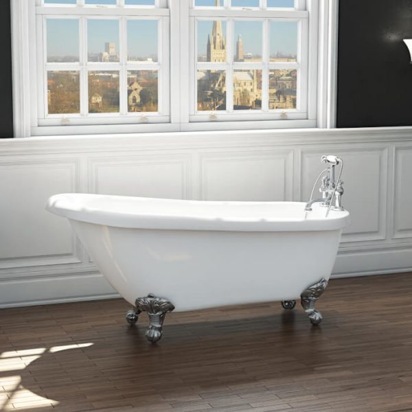 Brentwood Single Ended Freestanding Bath 1685x725mm