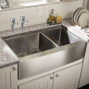 Bristan Club Profile Kitchen Sink Taps In Chrome