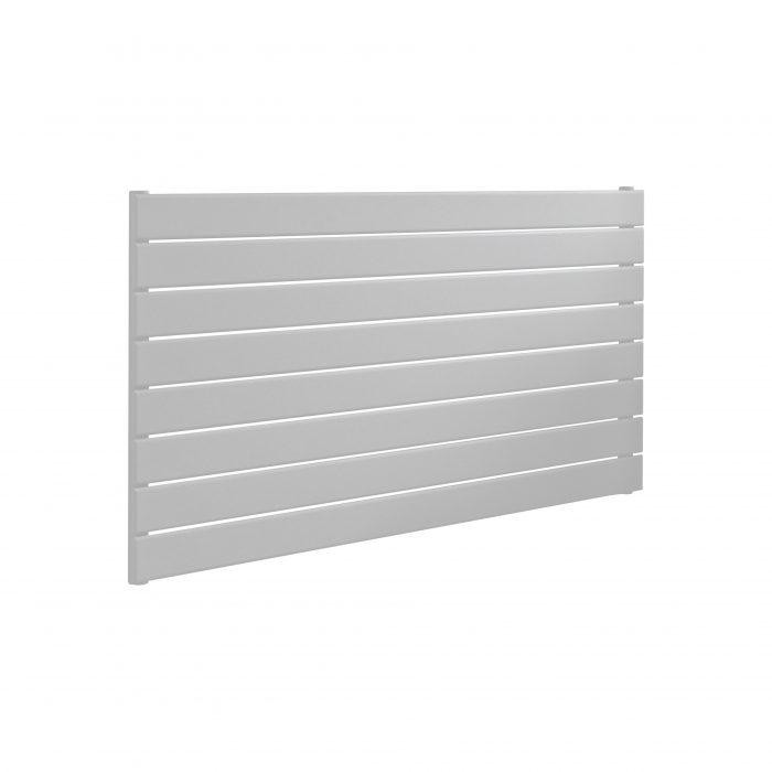 ESP Single Panel Horizontal Slim Radiators 604 High in White Gloss