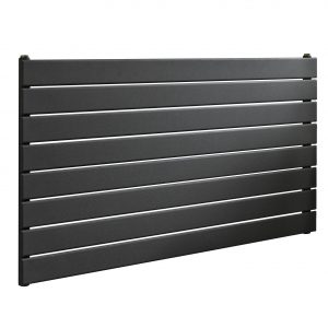 ESP Single Panel Horizontal Slim Anthracite Radiator 450mm High