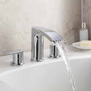ESP 3 Hole Bath Filler Tap In Chrome