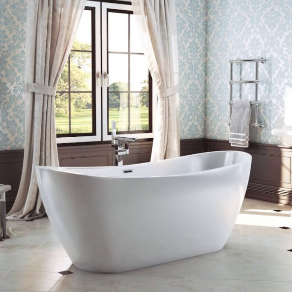 Ibiza Freestanding Double Ended Bath 1830x720mm