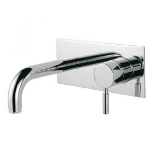 Isco Wall Mounted Bath Filler Tap In Chrome