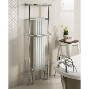Chatsworth Deluxe Straight Chrome Towel Rail 1500 x 500