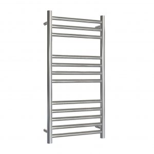 MD Stainless Steel Towel Rail Straight 400 Wide In Chrome Multiple Heights