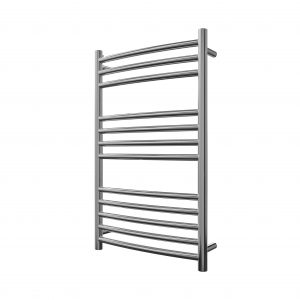 MD Stainless Steel Towel Rail Curved 500 Wide In Chrome Multiple Sizes