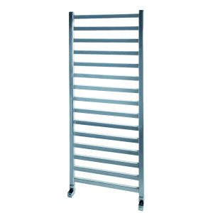 MD Square Straight Chrome Towel Rail 500 Wide Multiple Sizes
