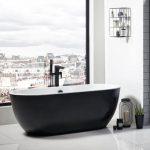 Marlo Bath 1655x750mm In Black & White Lifestyle3