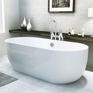 Marlo Double Ended Freestanding Bath 1555x745mm