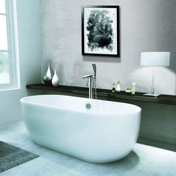 Marlo Double Ended Freestanding Bath 1655x750mm