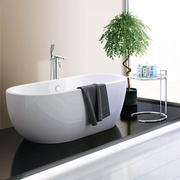 Marlo Double Ended Freestanding Bath 1800x750mm