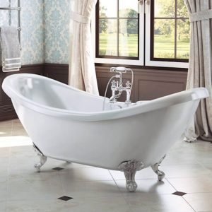Marlow Double Ended Freestanding Bath 1750x730mm