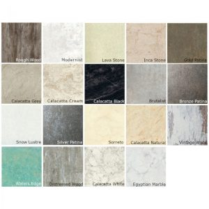 Mermaid Premium Laminate Wall Panelling In Various Colours & Sizes