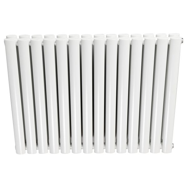 Double X Horizontal Designer Radiators 633mm High In White
