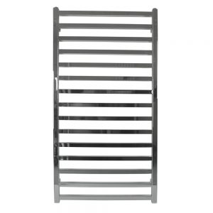 MD Square Straight Chrome Towel Rail- Available in Multiple Sizes