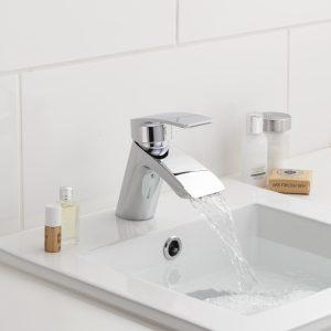 Pegler Waterfall Plus Mini Basin Mono In Chrome