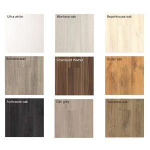 Aquastep laminate Flooring Wood 4V In Various Colours 1.6m2 Pack