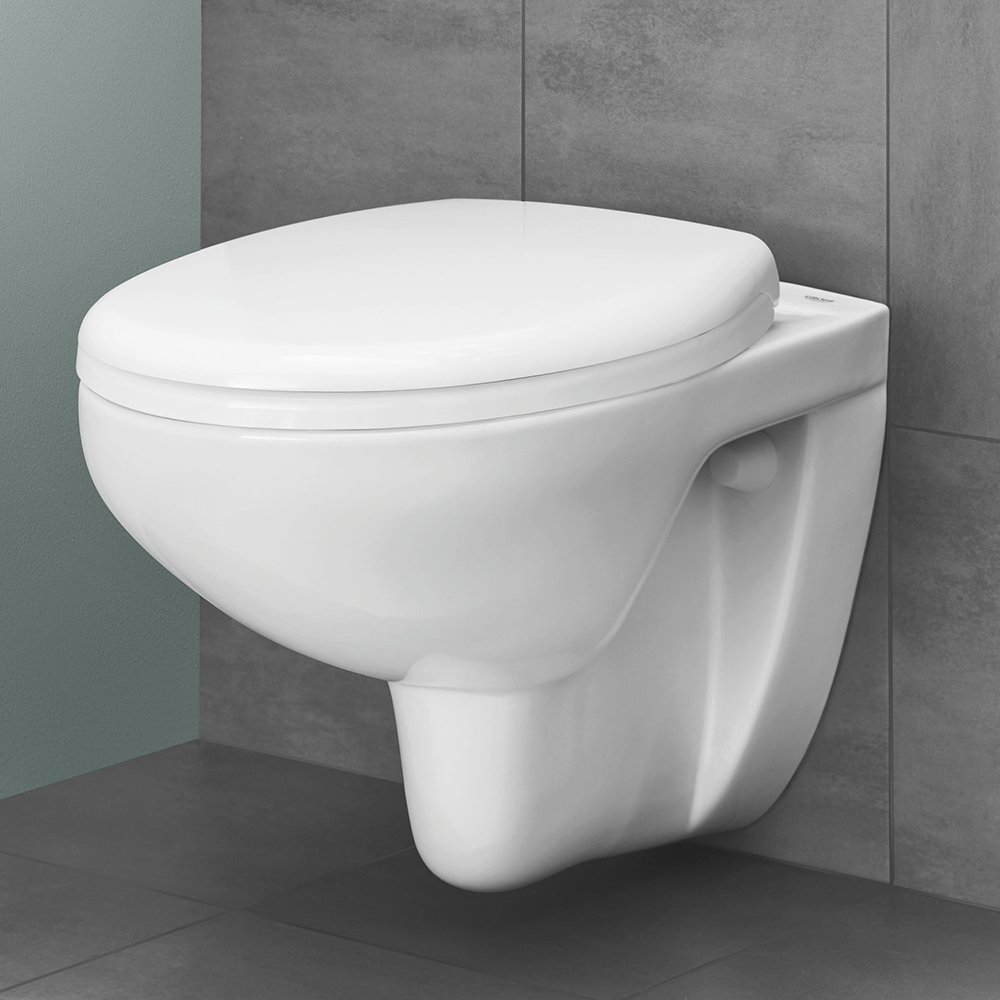 Grohe Rimless Wall Hung Toilet & Soft Close Seat