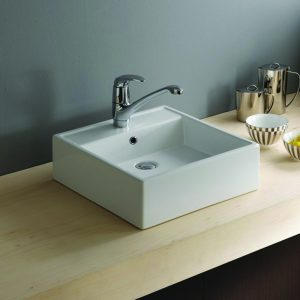 Nova 460mm Vessel Counter Top Bowl 1 Tap Hole