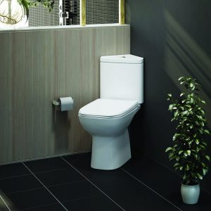 Orlando Close Coupled Corner Toilet & Soft Close Seat