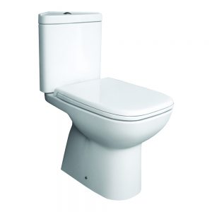 Orlando Corner Close Coupled Toilet & Soft Close Seat