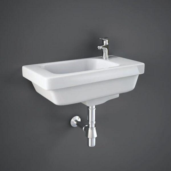 Resolve Cloakroom Basin 1 Tap Hole 450mm