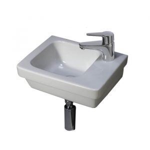 Resolve Small Cloakroom Basin 1 Tap Hole 360mm
