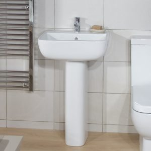 Serena Cloakroom Basin 1 Tap hole 400mm
