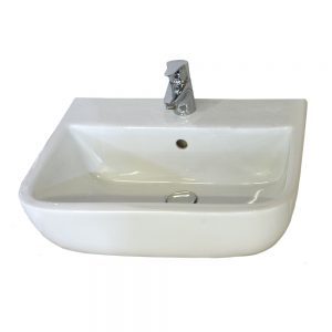 Serena Cloakroom Basin 1 Tap hole 400mm