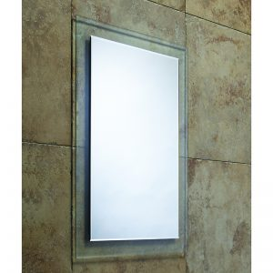 Glass Backed Bevelled Edge Mirror 495 x 710mm