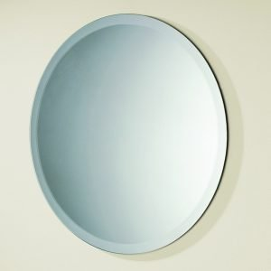 HiB Rondo Round Mirror 500 x 500mm Landscape Or Portrait