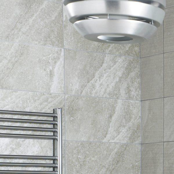 Diana Grey Ceramic Wall Bathroom Tiles 248X498 Tiles (Box of 8)
