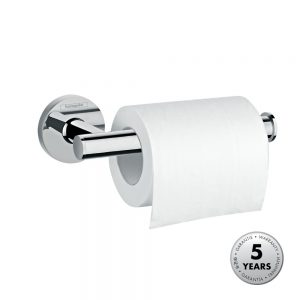 Hansgrohe Logis Toilet Roll Holder in Chrome