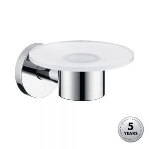 Hansgrohe Soap Dish & Holder in Chrome