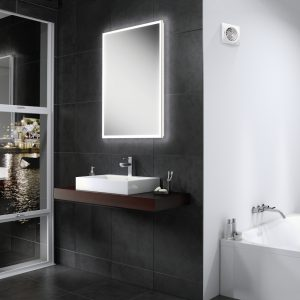 HiB Globe LED Illuminated Mirror 450, 500, 600, 900, 1200 & 1400mm