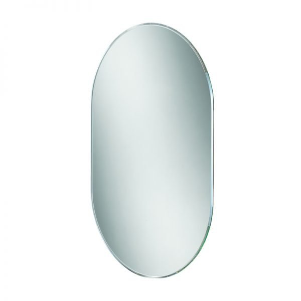 HiB Jessica Pebble Mirror 600 x 400mm Landscape Or Portrait