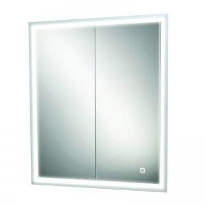 HIB Vanquish LED Illuminated Recessed Mirror Cabinet 600 & 800mm