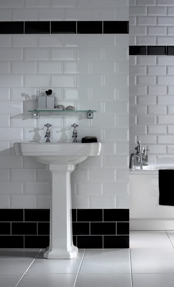 hemsworth black and white bathroom tiles