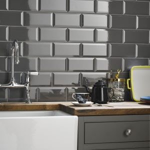 hemsworth grey gloss bathroom tiles