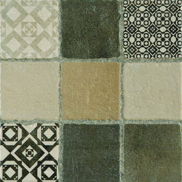 Rustic Mixed Decor Floor Tiles 305X305 Tiles (Box of 13)