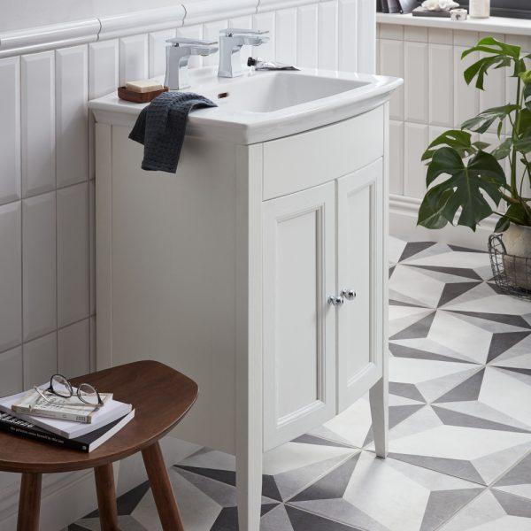 Heritage Furniture Blenheim Caversham 650mm Vanity Unit & Basin
