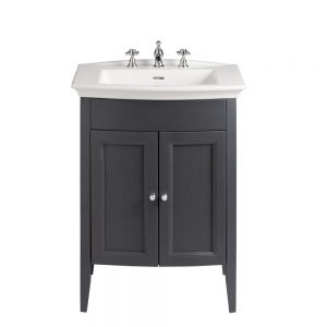 Blenheim Caversham 650mm Floor Standing Vanity Unit & Basin In Three Colours