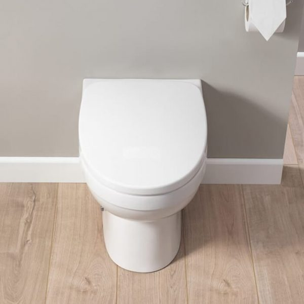 Delia Back To Wall Wc Toilet & Soft Closing Seat